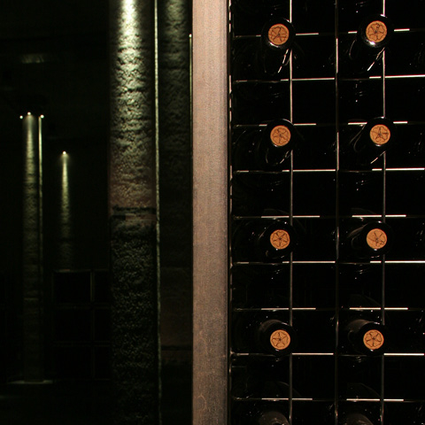 Valquejigoso - The Winery - Ageing in wine rack